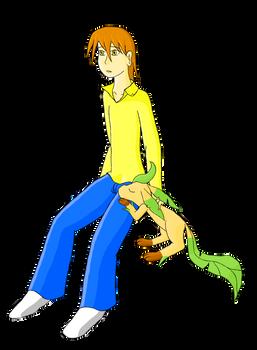 Dylan y leafeon - color