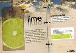 lime .cafe menu. by haaru