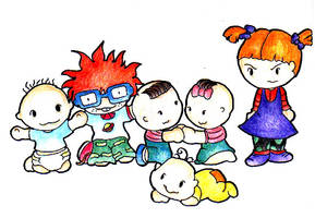 Rugrats by feamoda