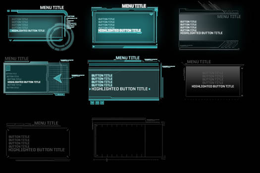 Blacklight: UI Style Sketches