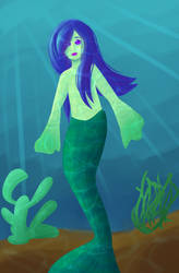 Another Redraw - Mermay day 10 by ray-of-flight