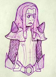 Inktober day 7 - Purple Yam