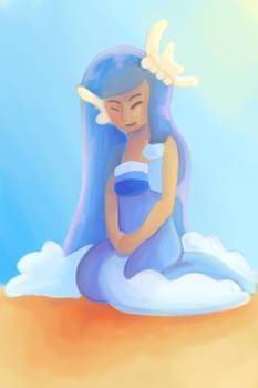 Fairy On The Beach
