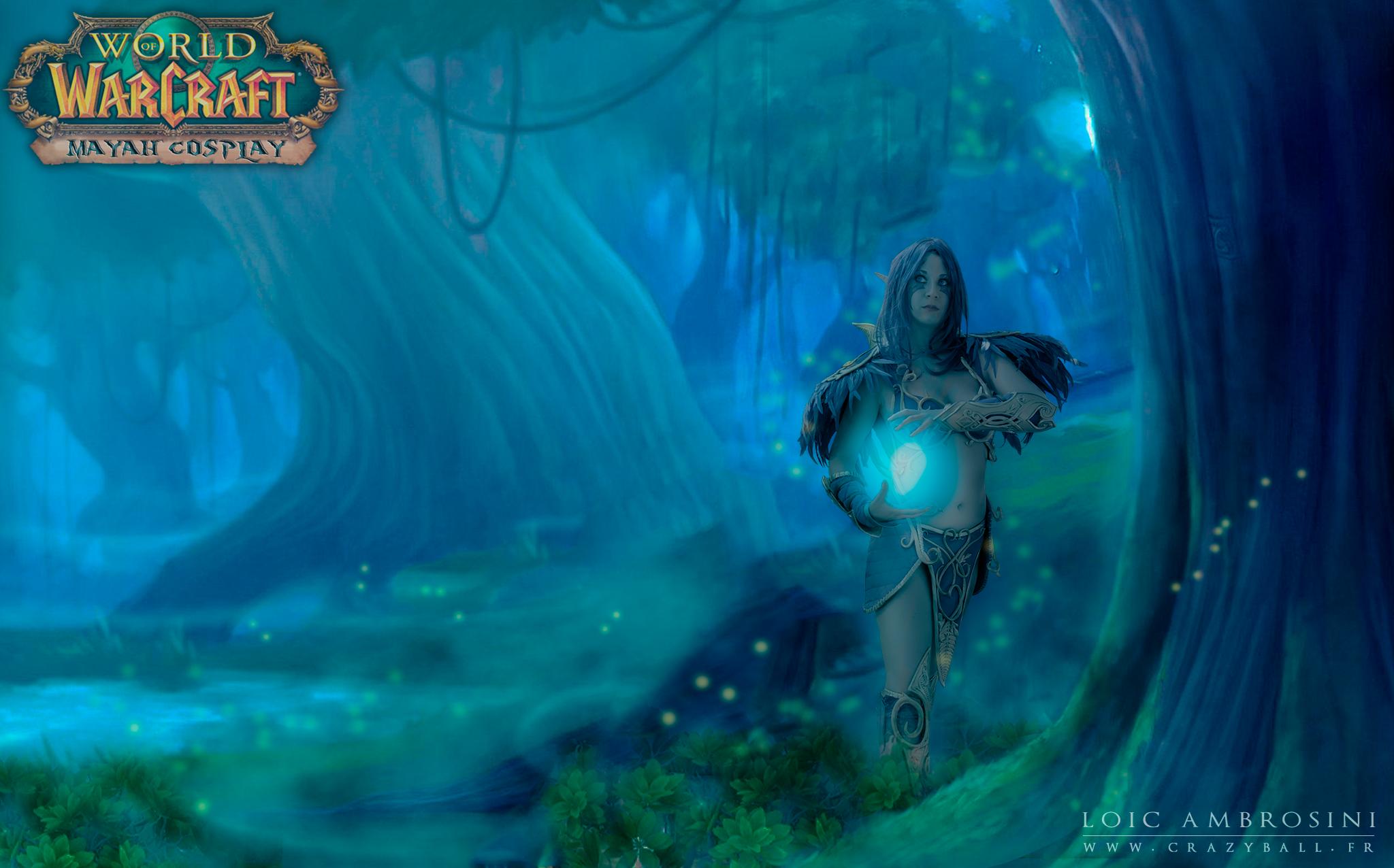 Night Elf Druid Wallpaper