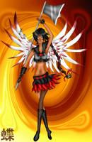 ART TRADE: Sailor Seraphim by SailorDream