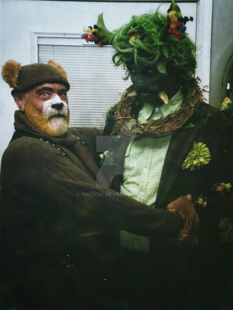 The Bear and the Green Man by nndosi