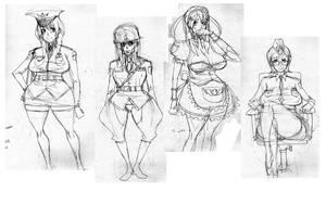 SPI girls by roaldiswack