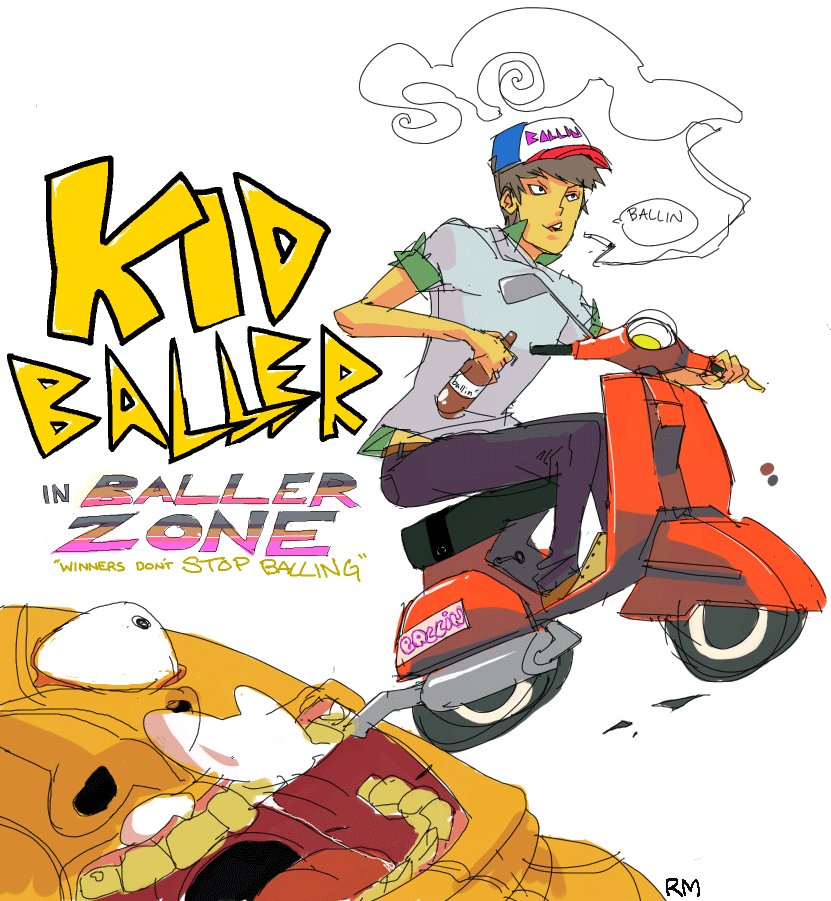 Baller Zone by roaldiswack