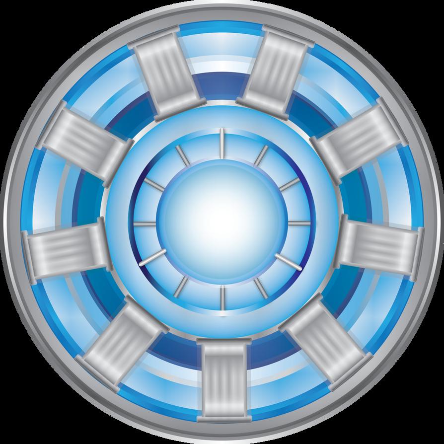 Arc Reactor - Iron Man Vector Image by mine22mine on DeviantArt