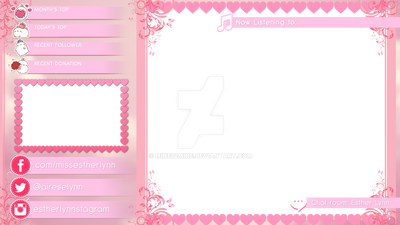 Esther Lynn's Twitch - LOL Overlay SAMPLE by mine22mine