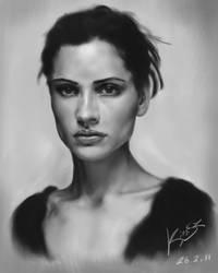 Portrait - Leonor Varela by KimiSz