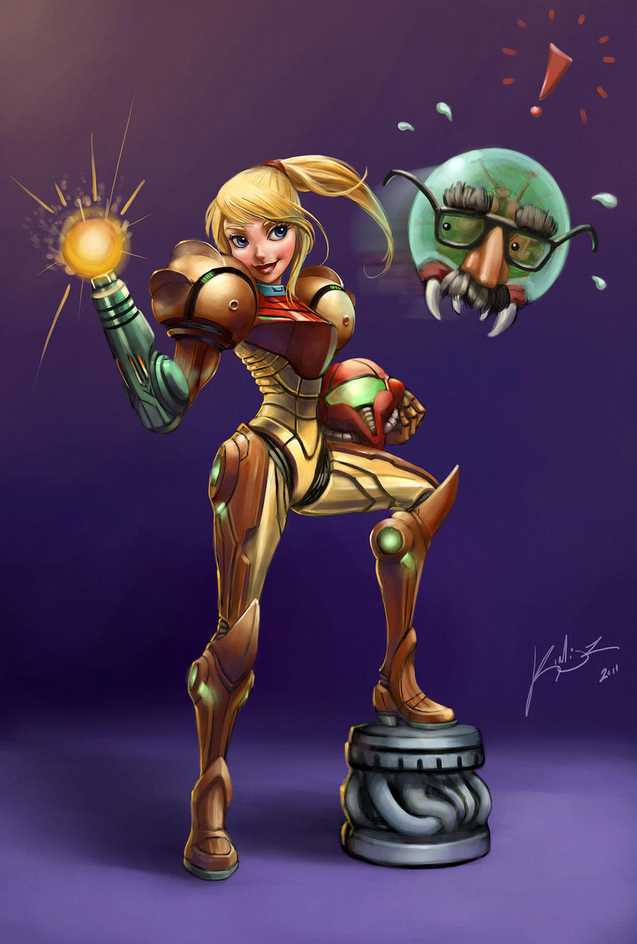 Samus Aran  Wikitroid  Fandom powered by Wikia Nude comics of samus aran