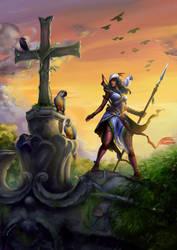 Assassin's Creed - Naara's Hunt by KimiSz