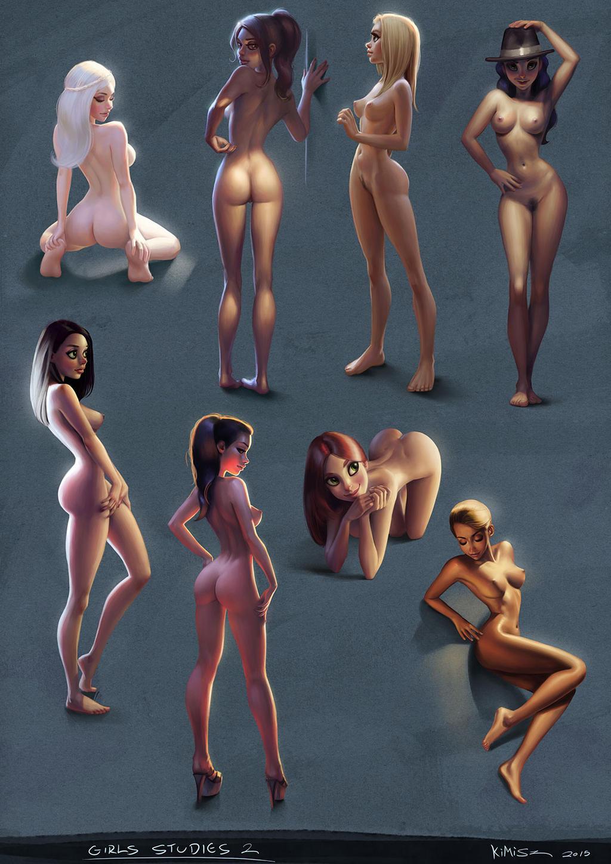 [Image: girls_studies_02_by_kimisz-d8otsy6.jpg]