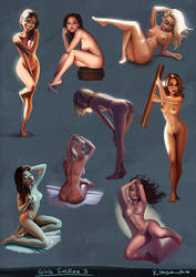 Girls Studies 03 by KimiSz