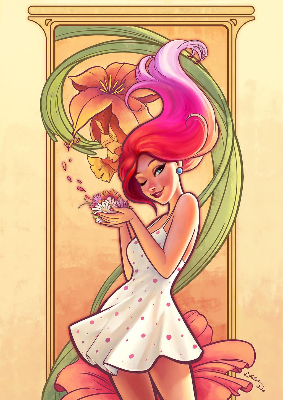 Flower Girl by KimiSz