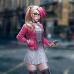 Street Punk Geek Girl