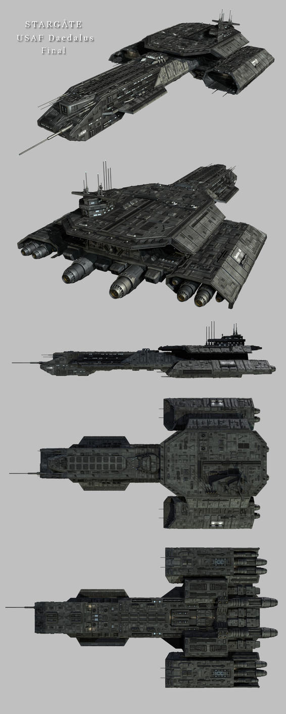 Stargate Daedalus Final by Mallacore