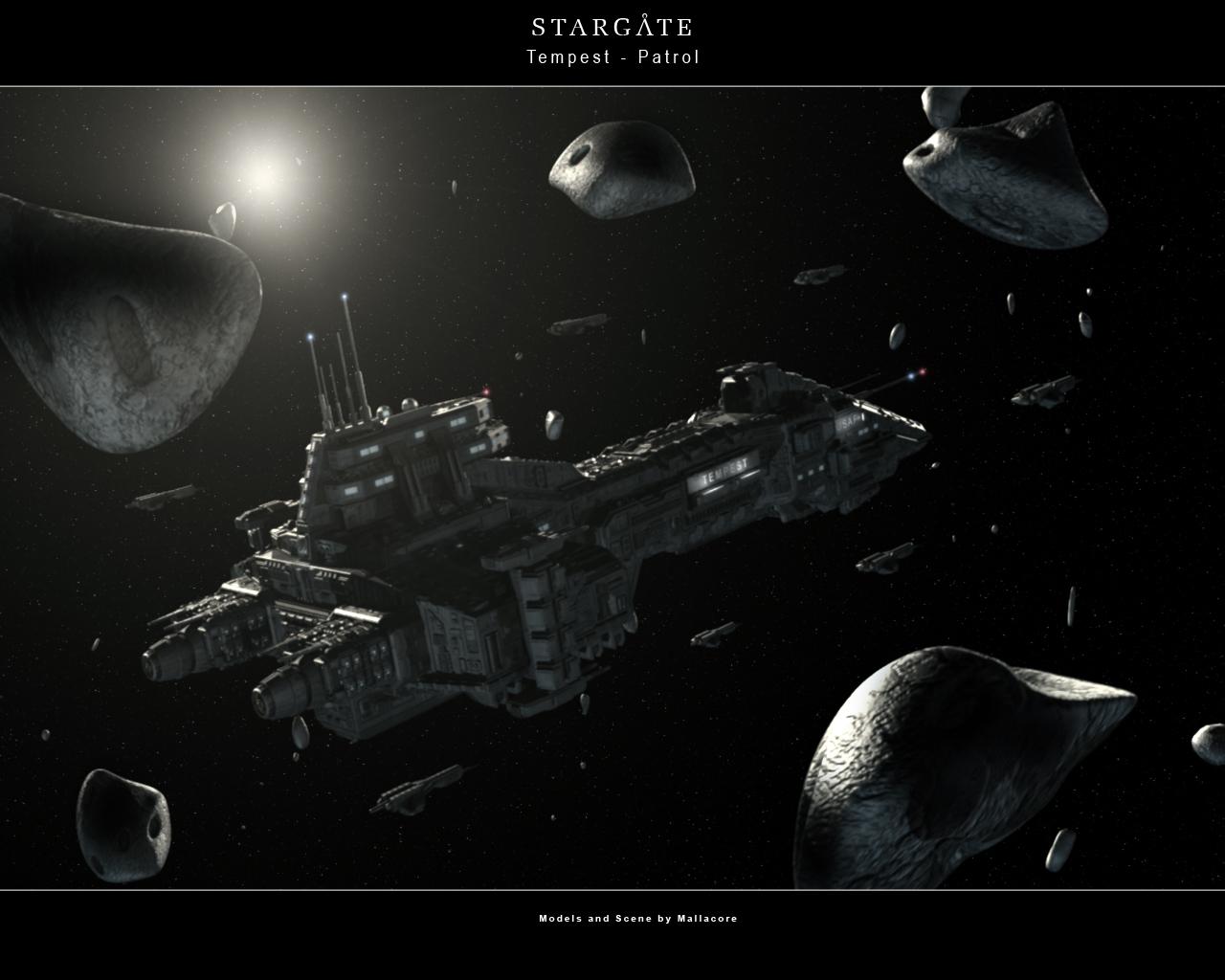 frégate terrienne Tempest___Patrol_by_Mallacore