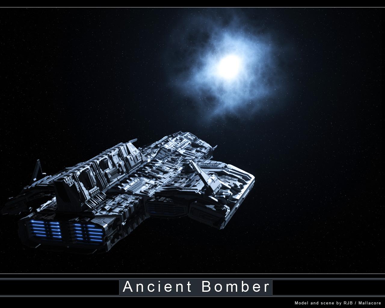 [idée acceptée ]vaisseau lantien - Page 3 Ancient_Bomber_Contest_Scene_3_by_Mallacore