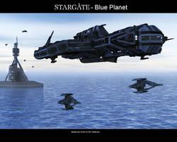 Stargate - Blue Planet by Mallacore
