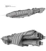 Babylon 5 - EA Orginal Wip 6A by Mallacore