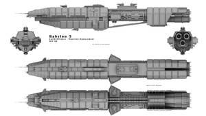 Babylon 5 - EA Orginal Wip 6B by Mallacore
