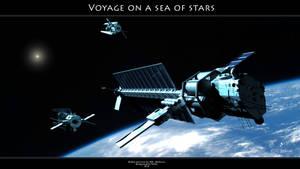 Voyage on a sea of stars