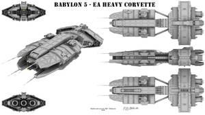Babylon 5 - EA Heavy Corvette