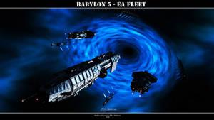 Babylon 5 - EA Fleet by Mallacore