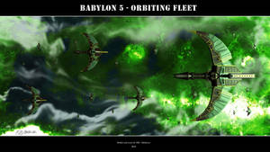Babylon 5 - Orbiting Fleet