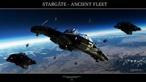 Stargate - Ancient Fleet by Mallacore