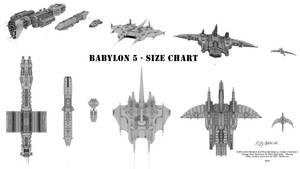 Babylon 5 - Size Chart