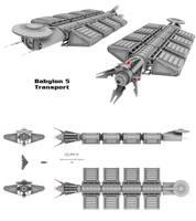 Babylon 5 - Transport by Mallacore