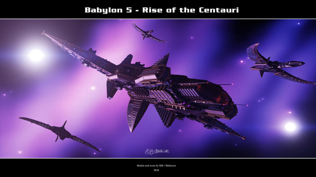 Babylon 5 - Rise of the Centauri