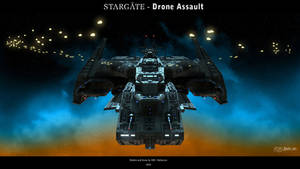 Stargate - Drone Assault by Mallacore