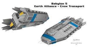 Babylon 5  - Crew Transport by Mallacore