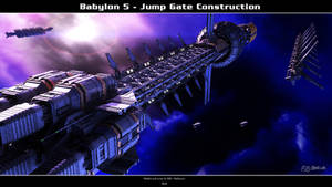 Babylon 5 - Jump Gate Construction by Mallacore
