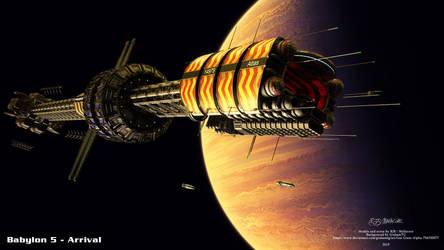 Babylon 5 - Arrival by Mallacore