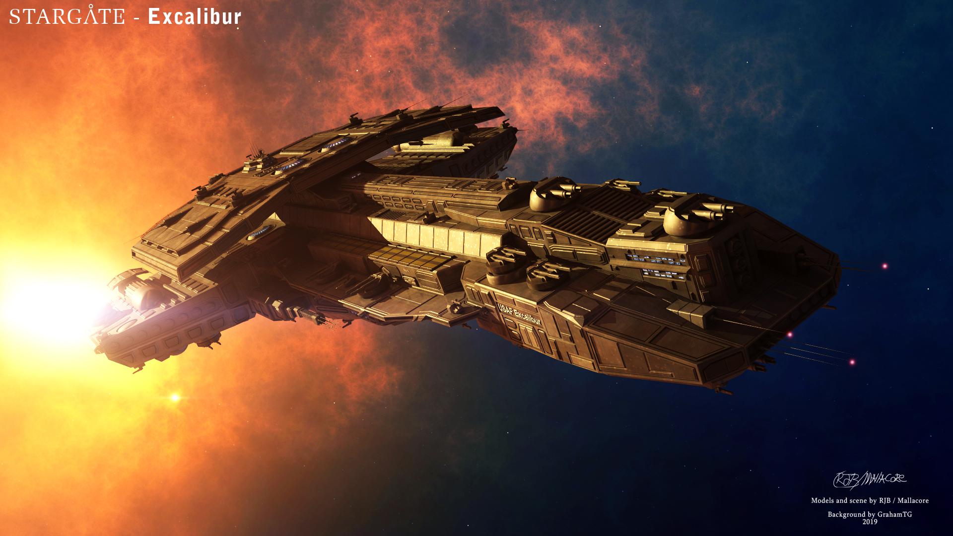 Stargate - Excalibur by Mallacore : Stargate