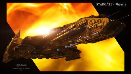 Stargate- Phoenix 2019 Pop Out by Mallacore