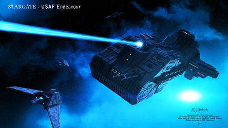 Commissioned Project - USAF Endeavour - Scene 5 by Mallacore