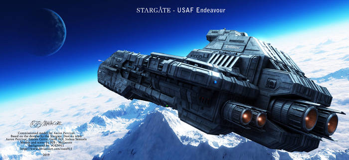 Stargate finished work by Mallacore on DeviantArt