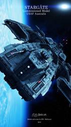 Stargate - USAF Australis scene 7 by Mallacore