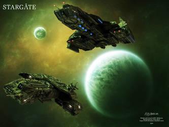 Stargate - Daedalus / Phenoix by Mallacore