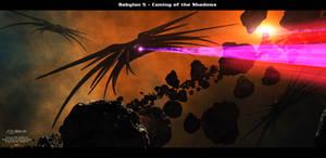 Babylon 5 Coming of the Shadows copy