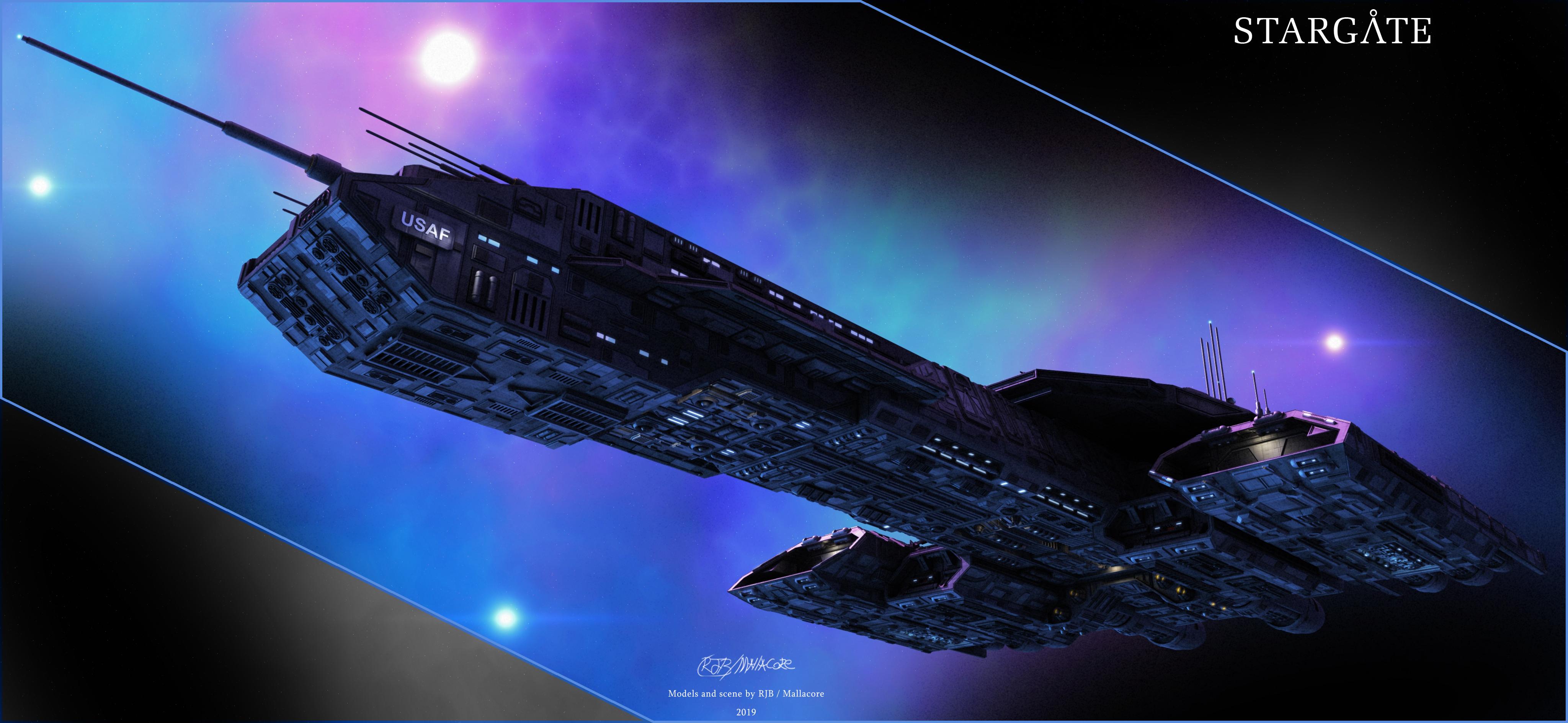 Stargate Daedalus Dec 7 2019 By Mallacore On Deviantart