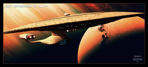 U.S.S. Enterprise D Scene 2