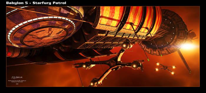 Babylon 5 - Starfury Patrol