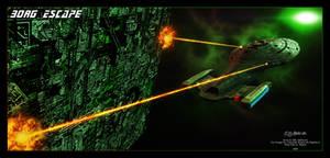 Star trek - Borg Escape
